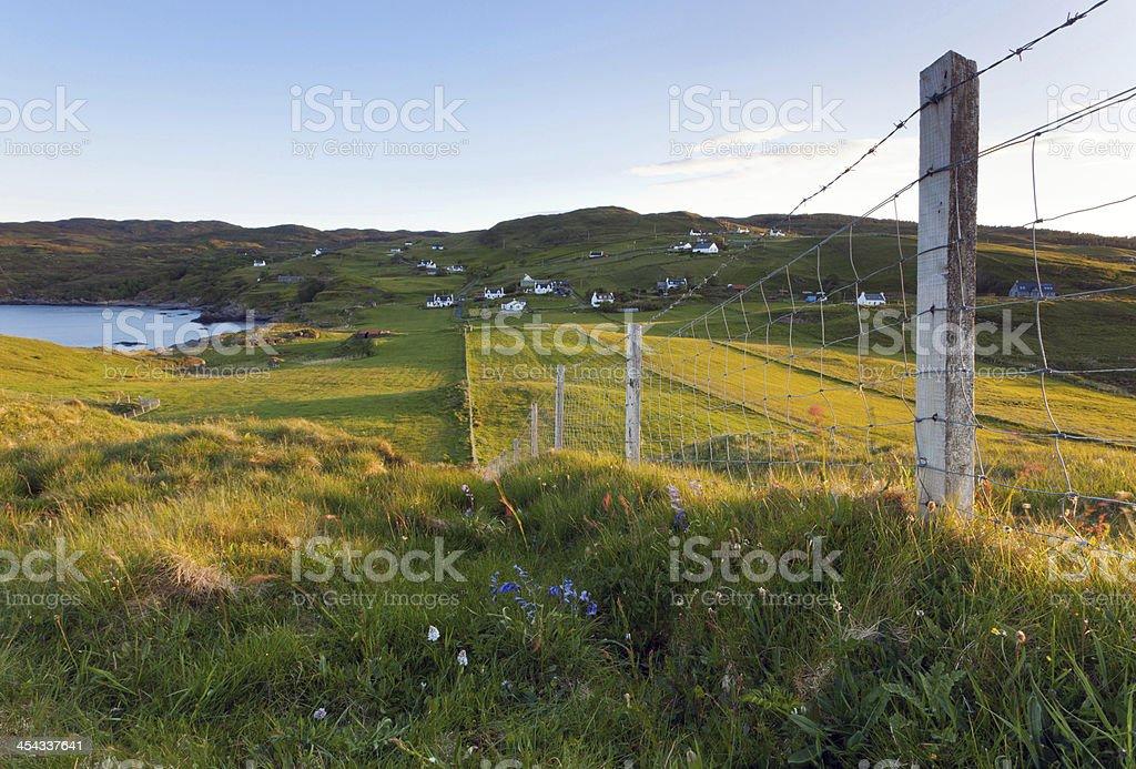 Sleat on Isle of Skye stock photo