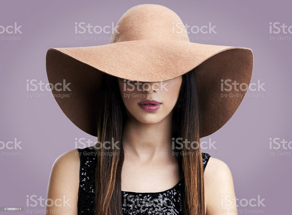 Sleek sophistication stock photo