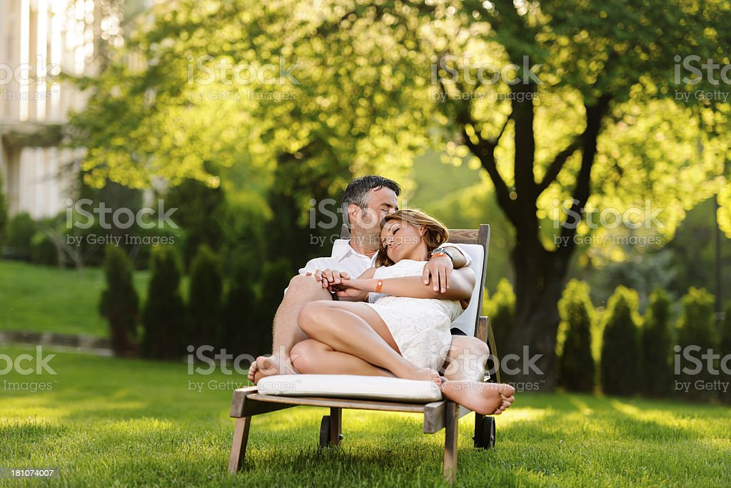 sleep and relax royalty-free stock photo