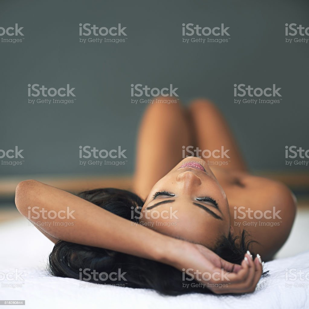 Sleep has never looked more inviting stock photo
