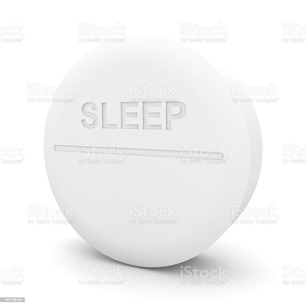 Sleep Pill stock photo