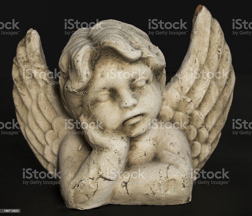 Sleeping Angel royalty-free stock photo