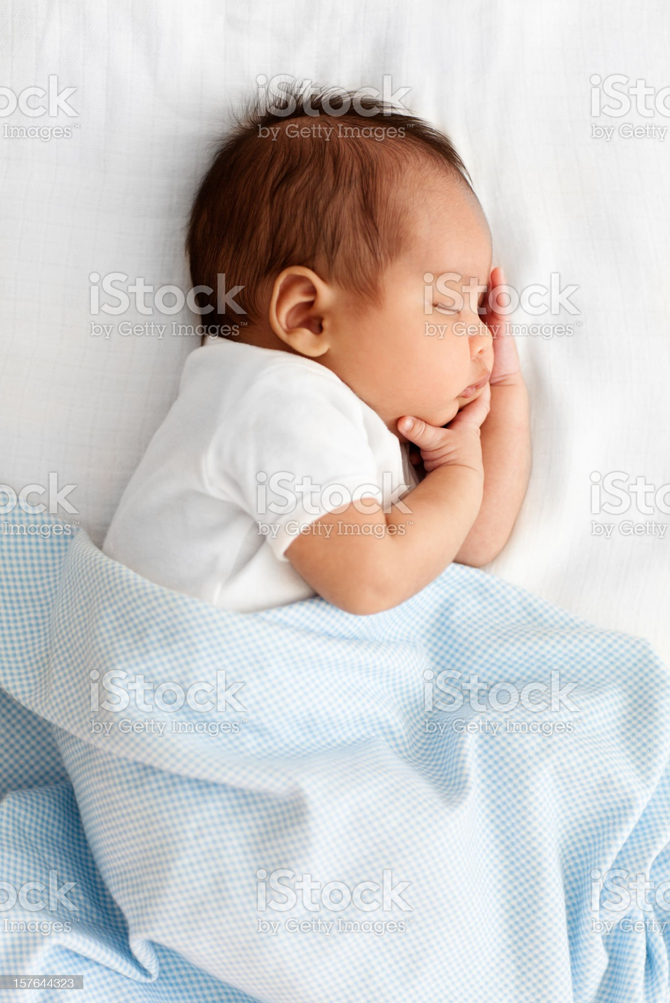 Sleeping Baby royalty-free stock photo