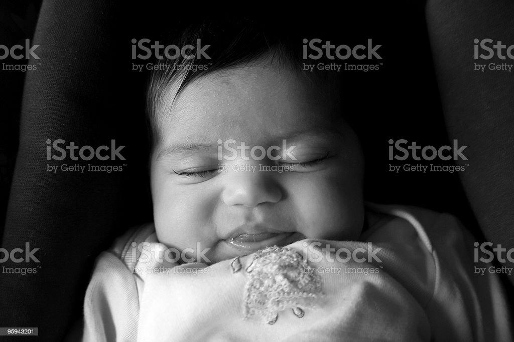 Chambre de bébé photo libre de droits