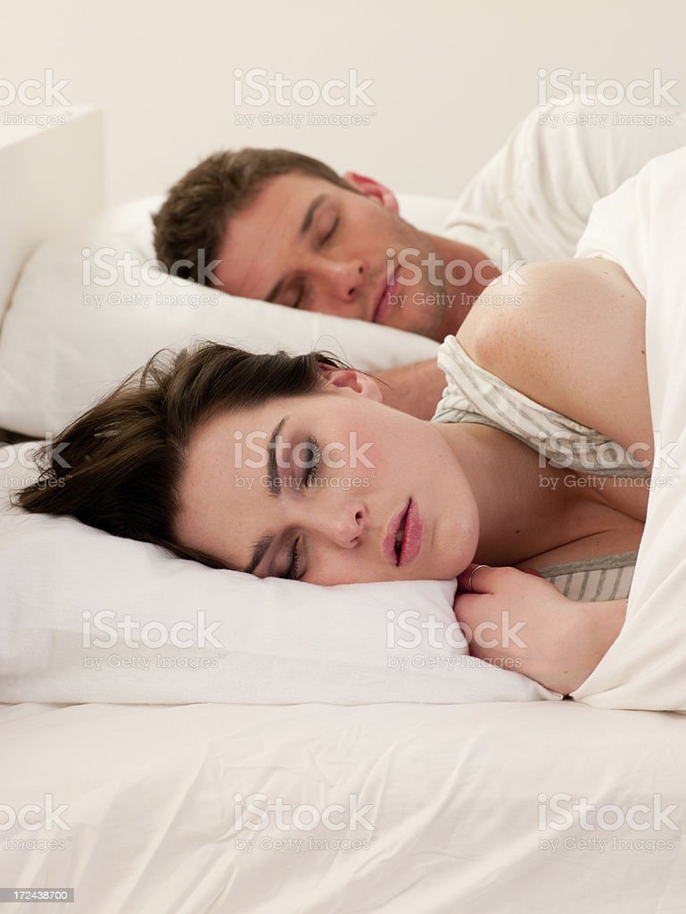 Sleeping Beauties royalty-free stock photo