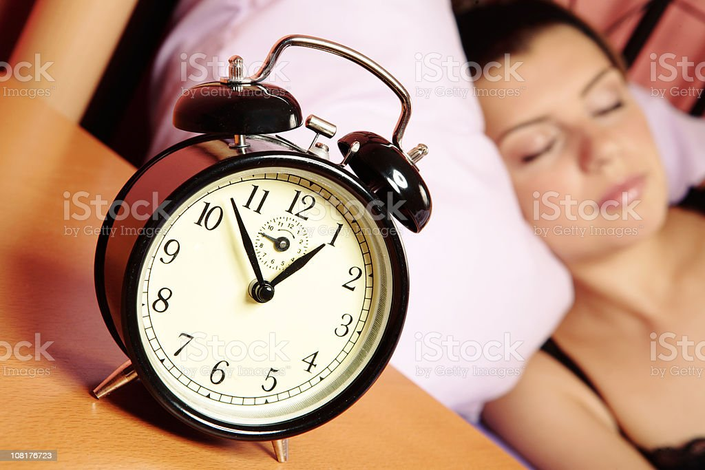 Sleeping beauty royalty-free stock photo