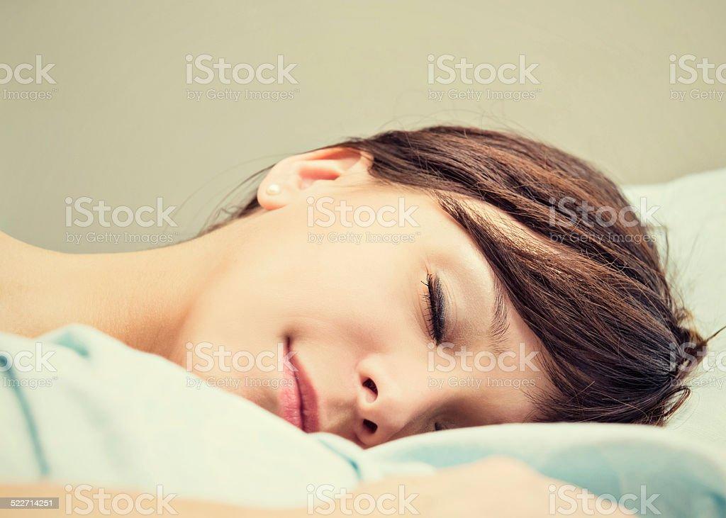 Sleeping Beauty ... stock photo