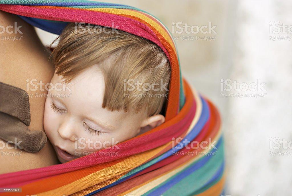Sleeping beauty royalty-free stock photo