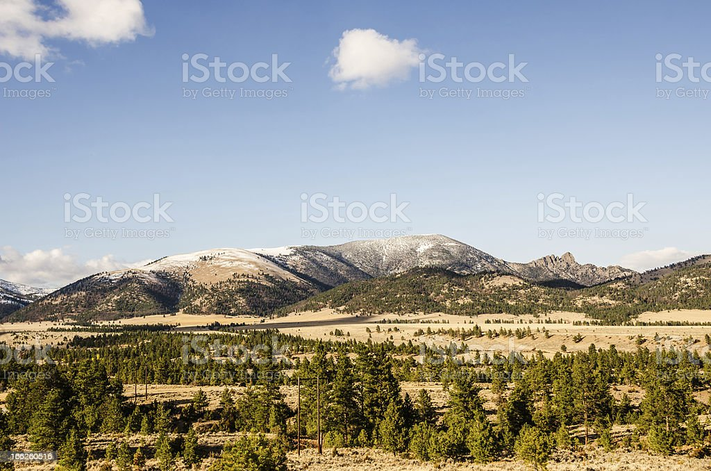 Sleeping Giant stock photo
