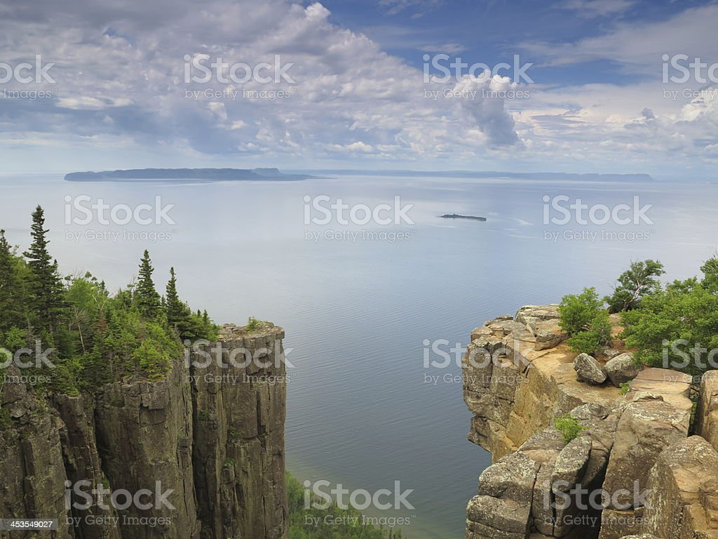 Sleeping Giant Provincial Park. stock photo