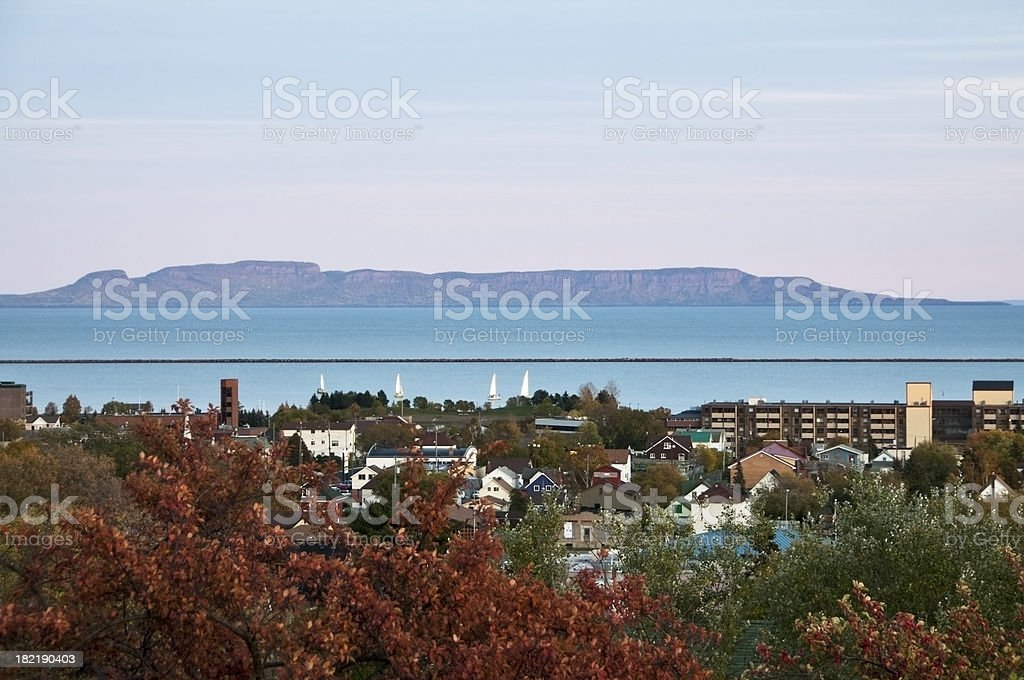 Sleeping Giant - Thunder Bay, Ontario, Canada stock photo