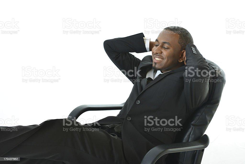Sleeping on the Job royalty-free stock photo