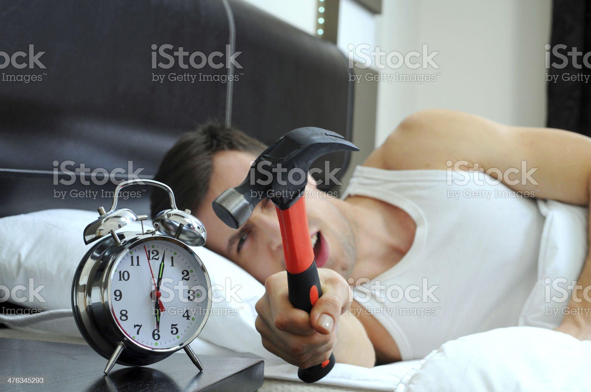Sleeping royalty-free stock photo