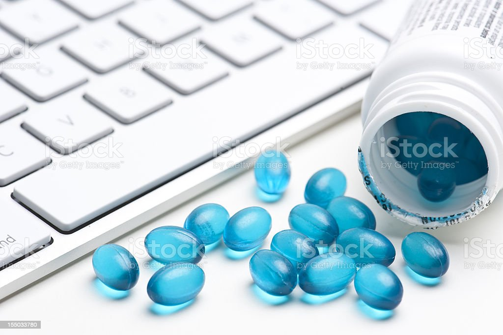 Sleeping pills stock photo