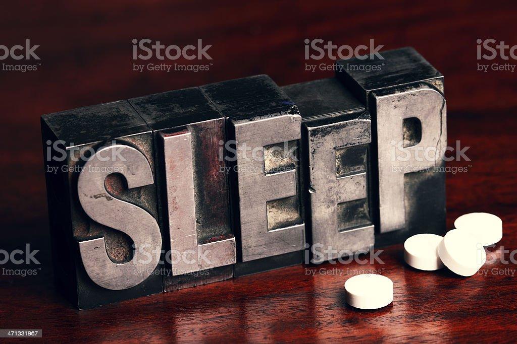 Sleeping Pills stock photo