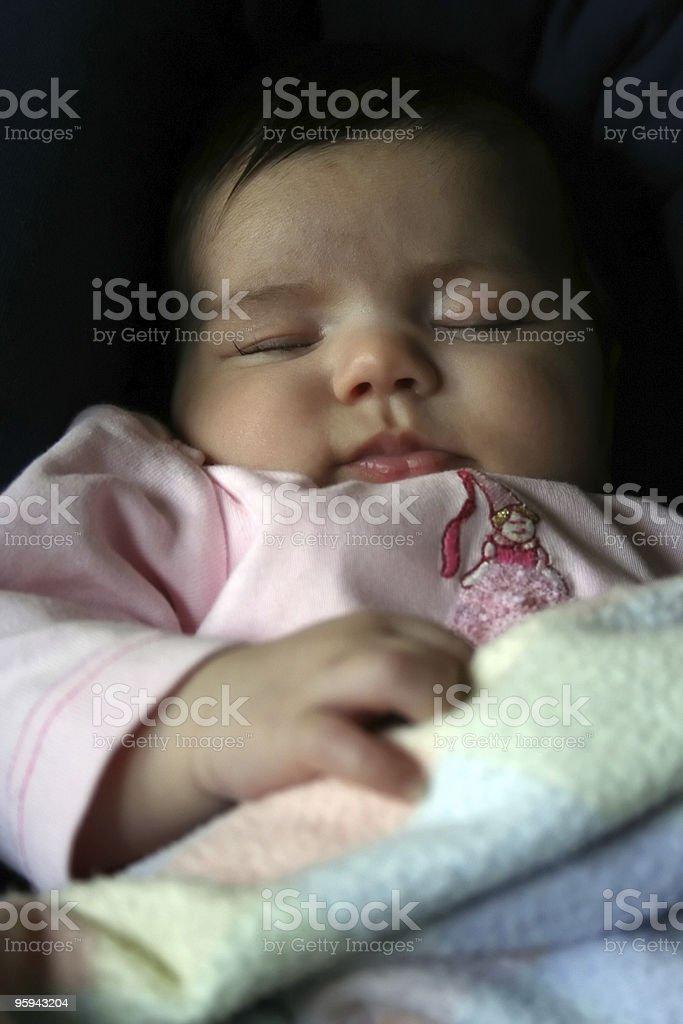 Sleeping Princess stock photo