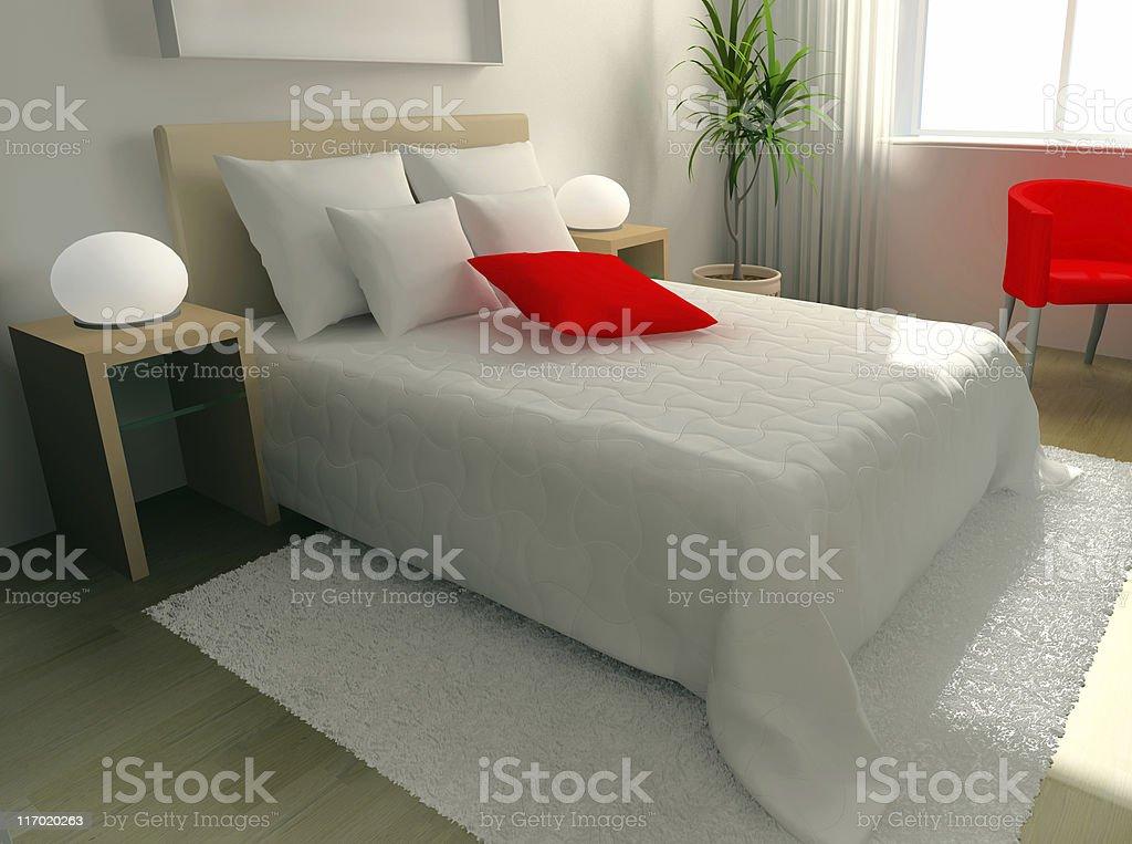 sleeping room royalty-free stock photo