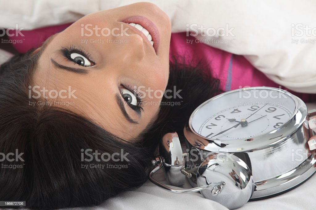 Sleeping time royalty-free stock photo