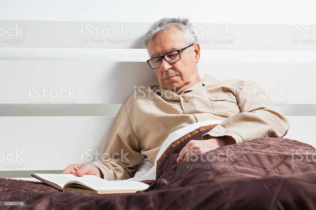 Sleeping time stock photo