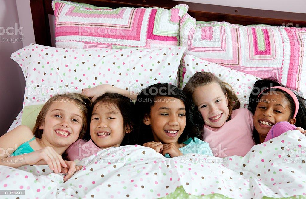 Sleepover royalty-free stock photo