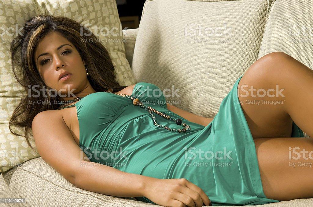 Sleepy Beauty royalty-free stock photo