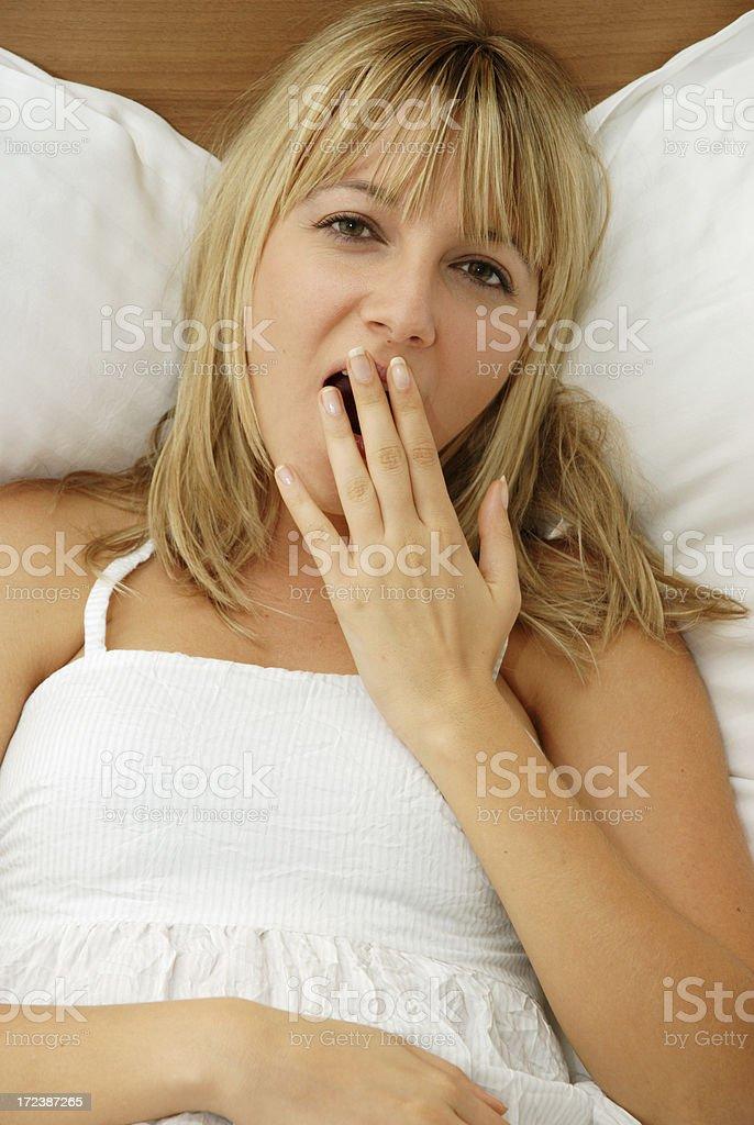 Sleepy royalty-free stock photo