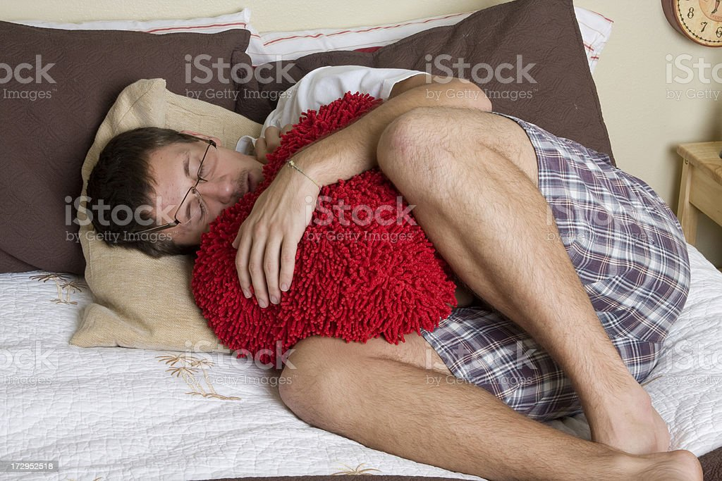 Sleepy stock photo