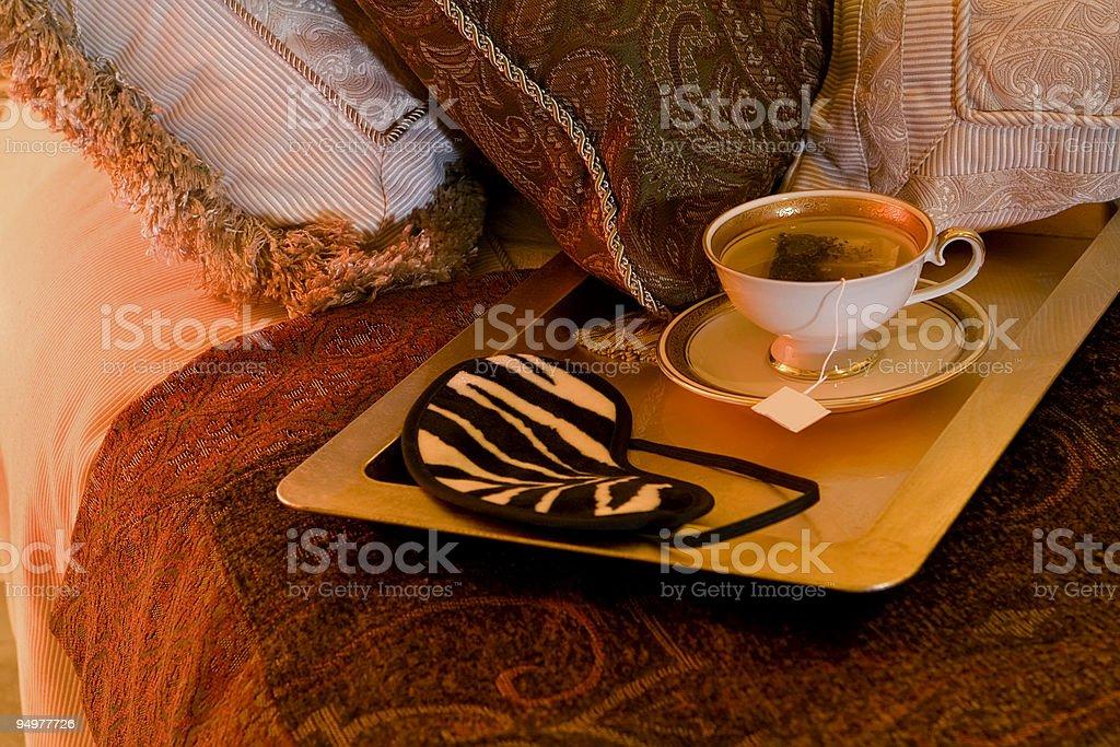 Sleepy Time Tea royalty-free stock photo