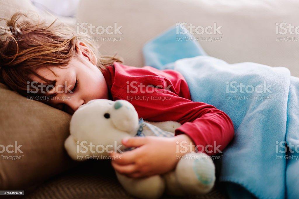sleepyhead stock photo