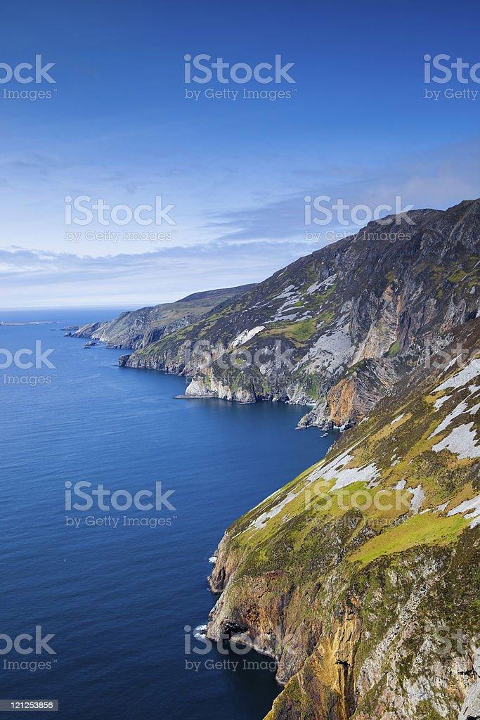Sleeve League, Ireland royalty-free stock photo