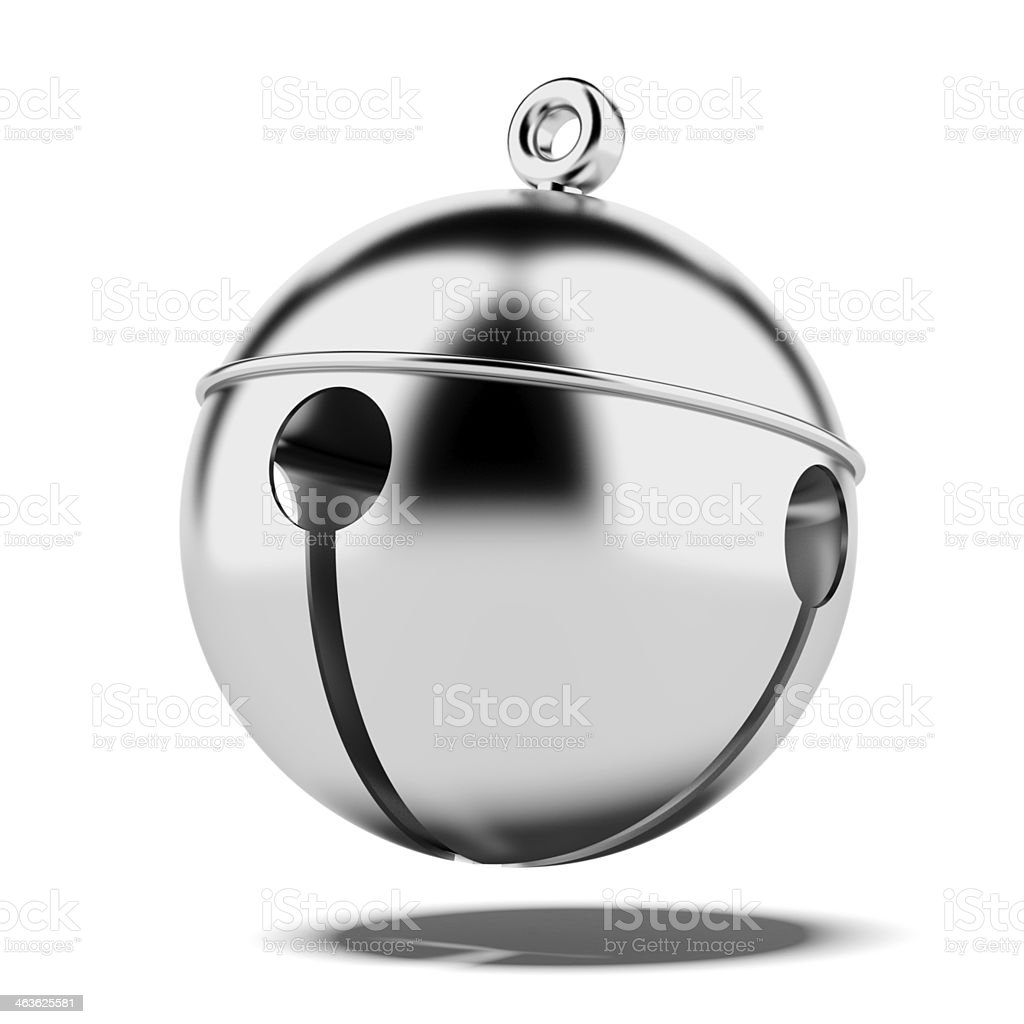 Sleigh bell stock photo