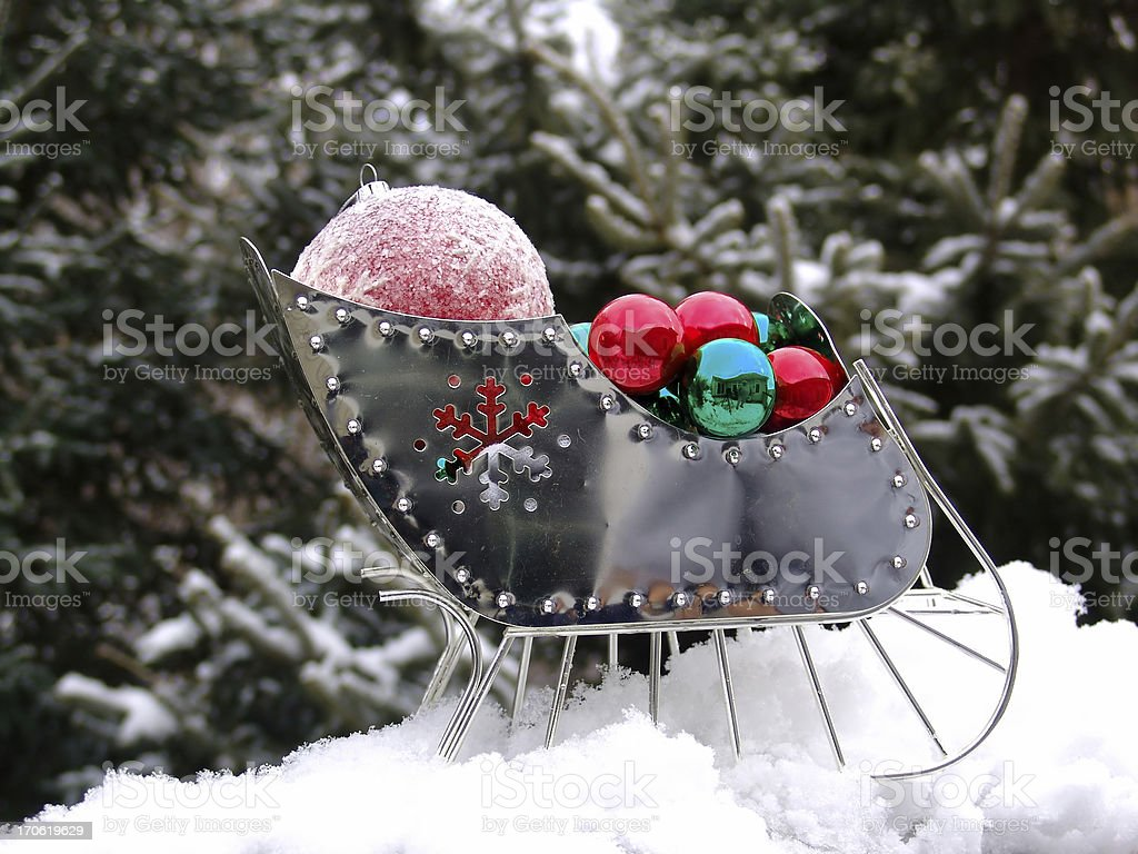Sleigh Bells Ringing royalty-free stock photo
