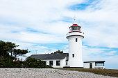 Sletterhage Lighthouse in Helgenæs