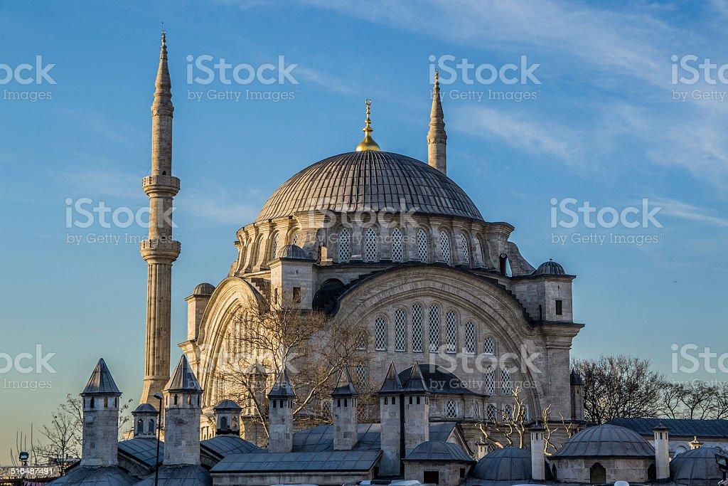 Süleymaniye Mosque Istanbul stock photo