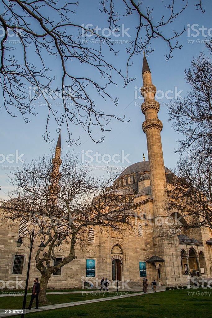 S?leymaniye Mosque Istanbul stock photo