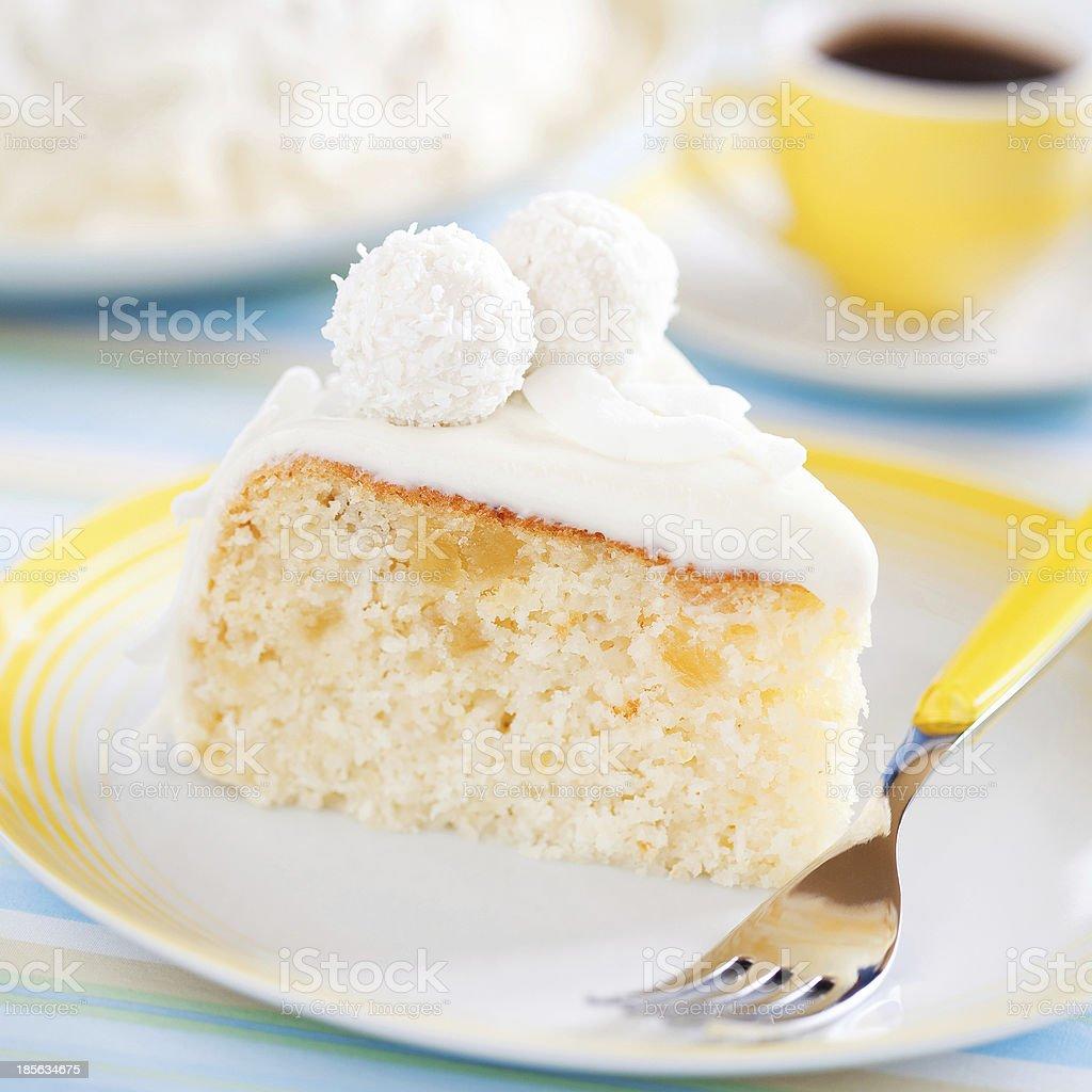 Slice cake royalty-free stock photo