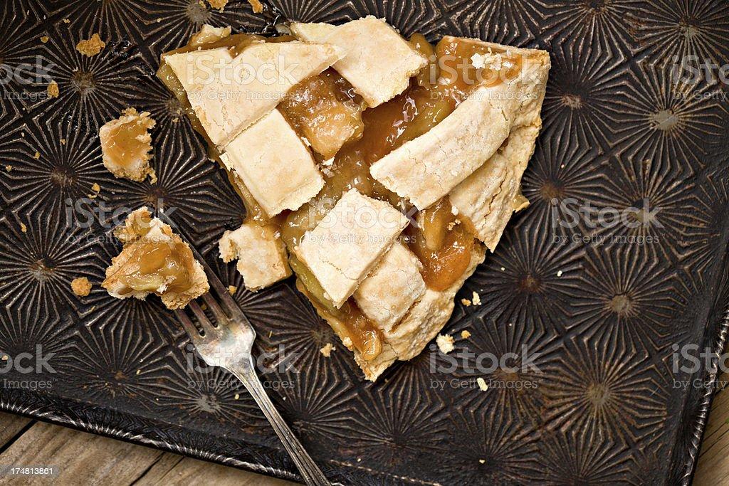 Slice Of Apple Pie royalty-free stock photo