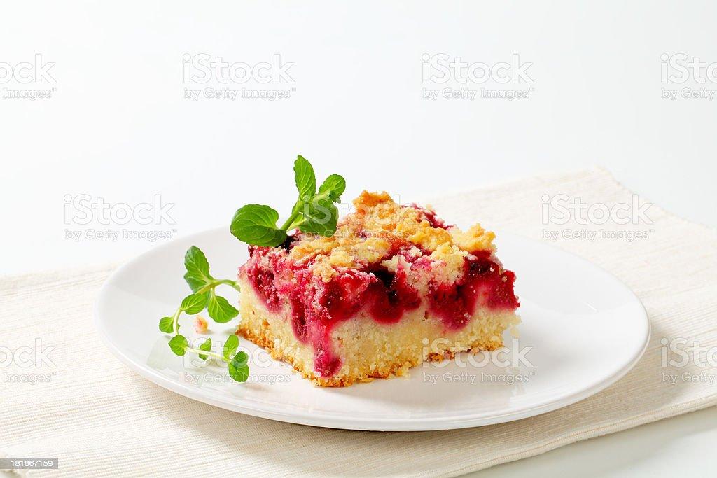 slice of blackberry pie royalty-free stock photo
