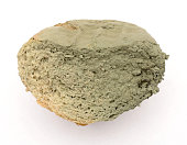 slice of bread covered with mold