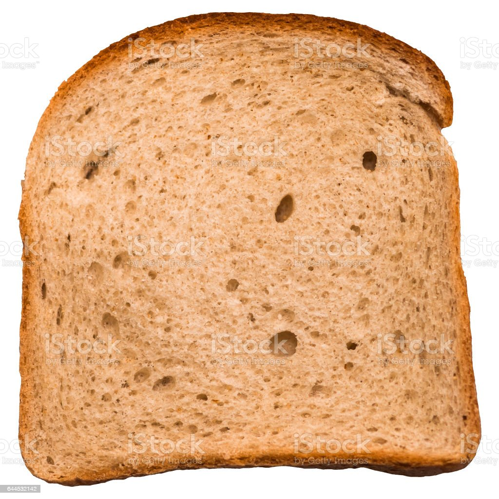 Slice of bread stock photo