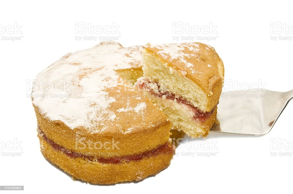 Slice of Cake royalty-free stock photo