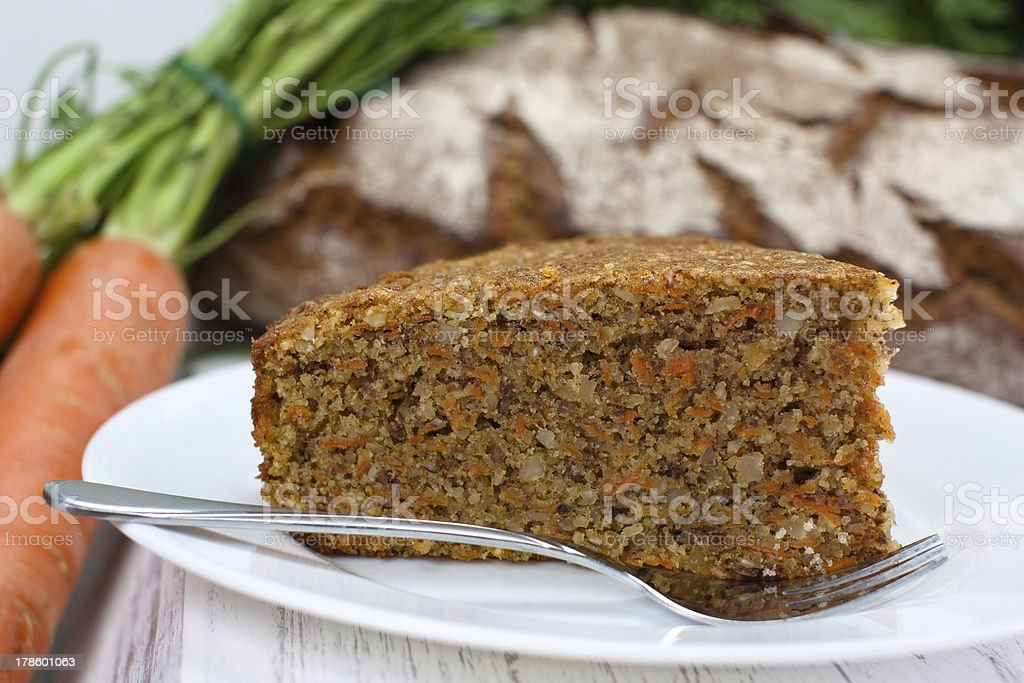 slice of carrot royalty-free stock photo