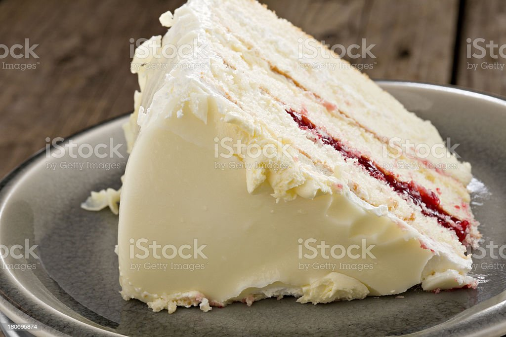 Slice Of Layer Cake royalty-free stock photo
