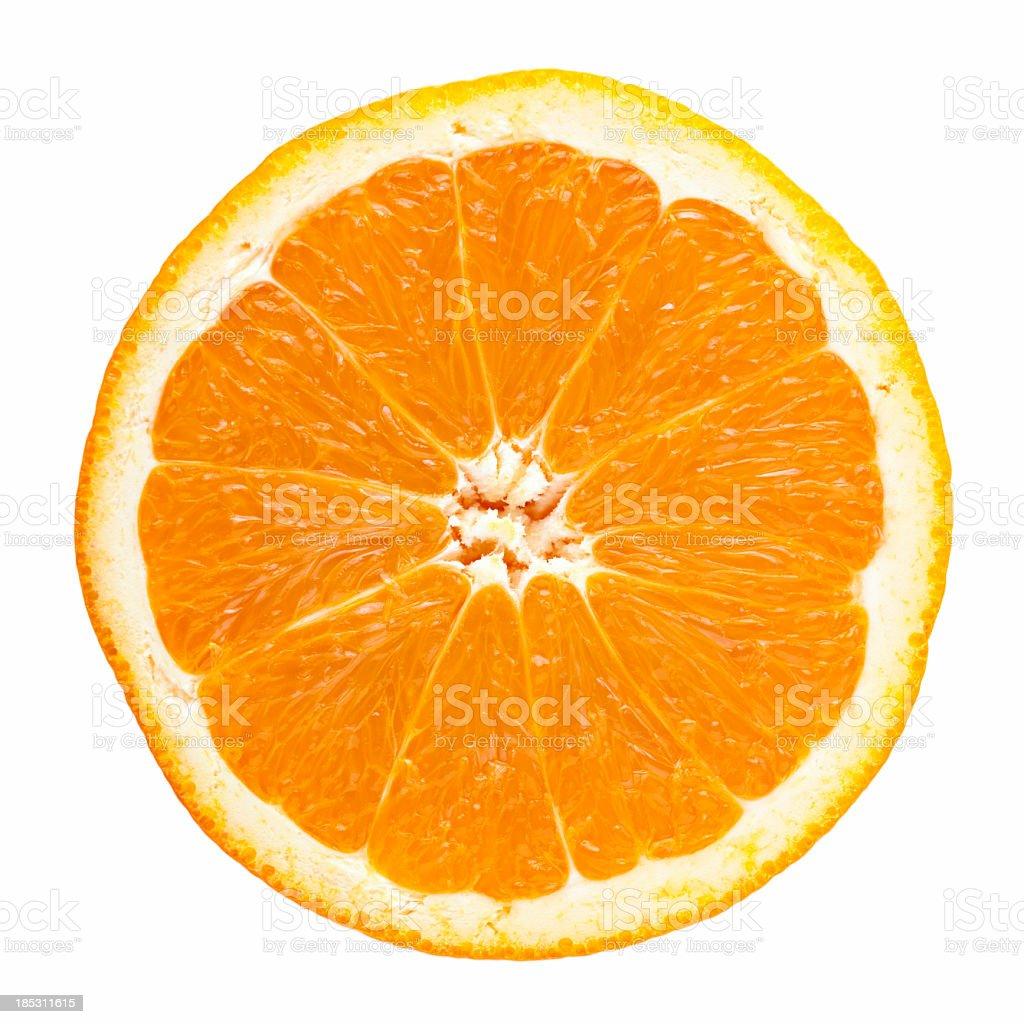 Slice of orange stock photo