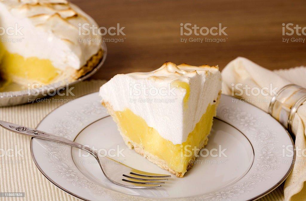 Slice of Pie stock photo