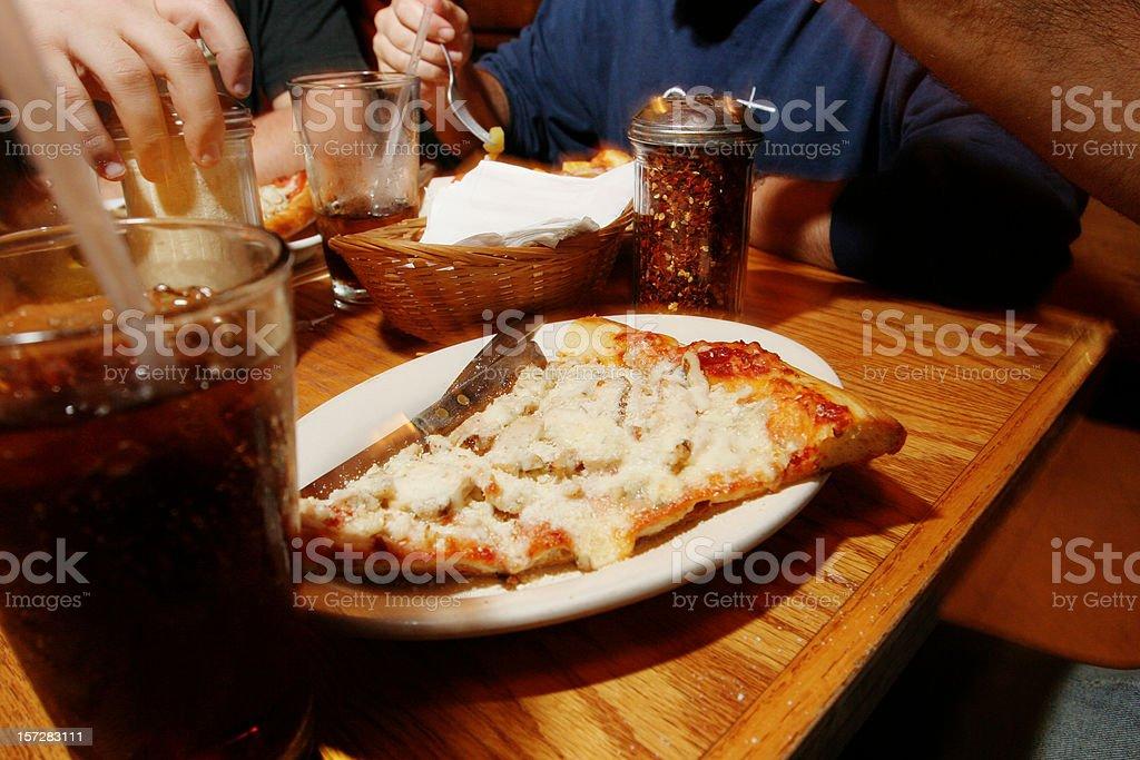 Slice of Pizza royalty-free stock photo