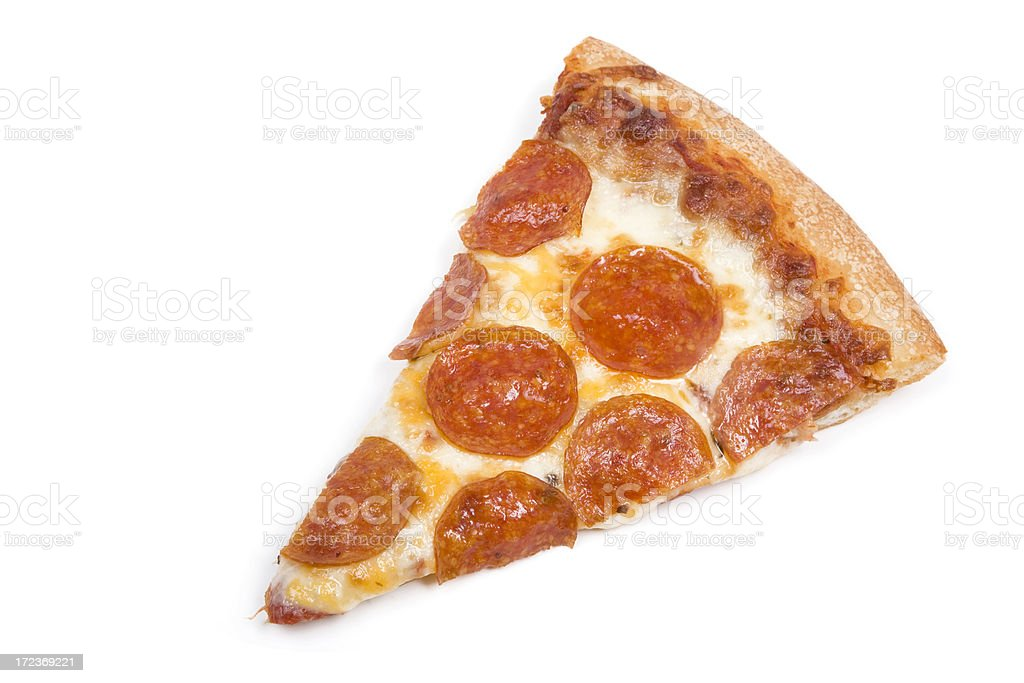 Slice of Pizza royalty-free stock photo