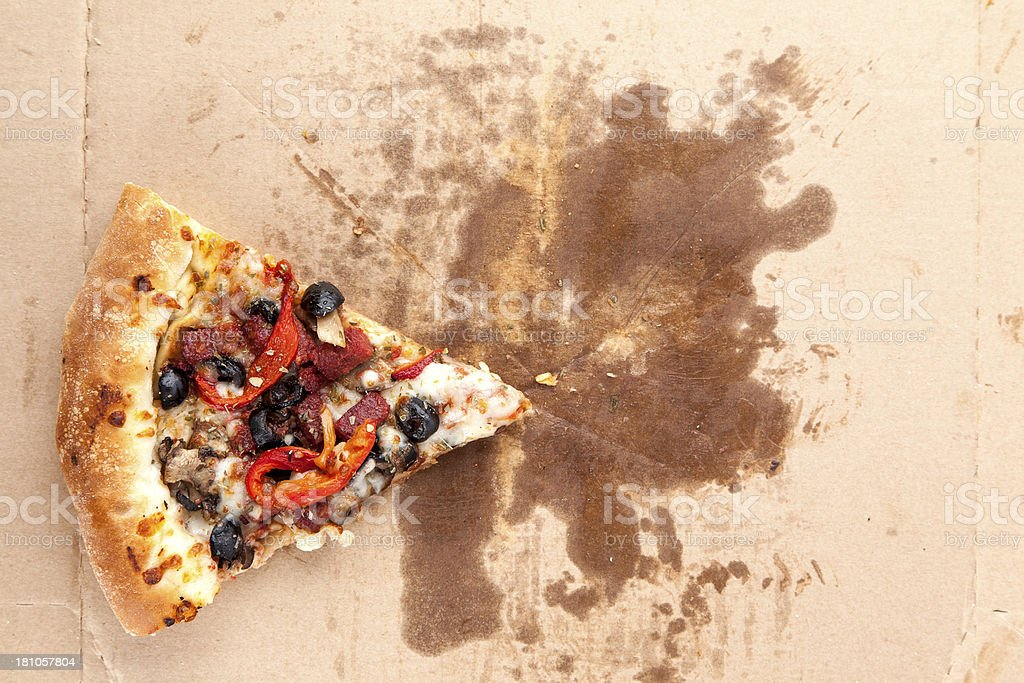 Slice of  Pizza stock photo