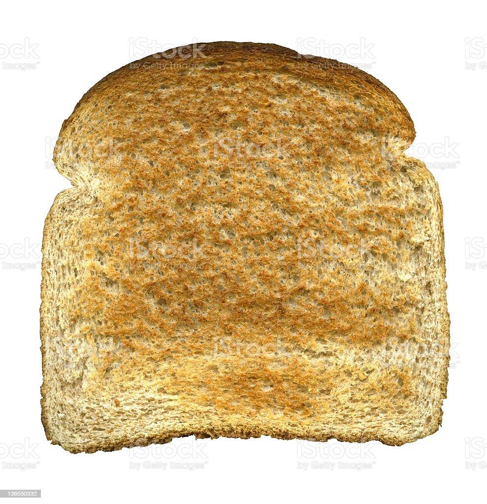 Slice of toast (XXXL) royalty-free stock photo