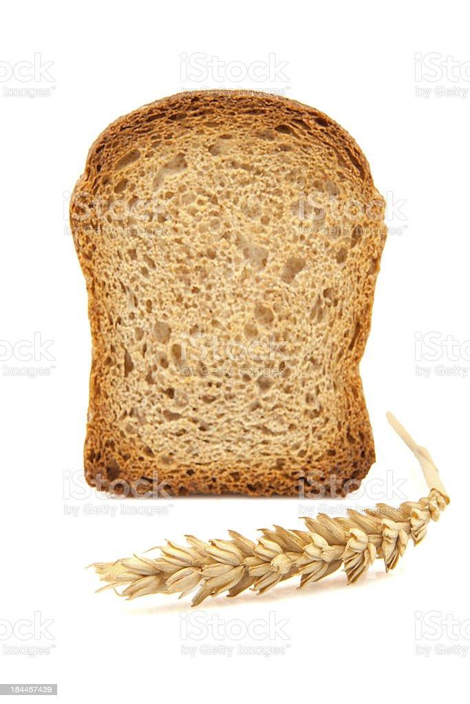 slice of toast stock photo